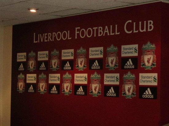 Anfield Stadium: Sala de conferencias