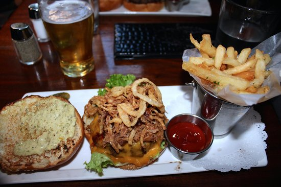 Thunder Burger & Bar: Cow In A Pig Suit Burger