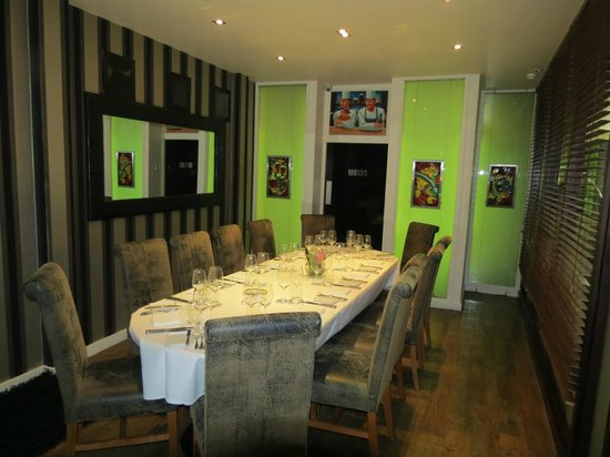 L'Ecrivain: Yeats private dining