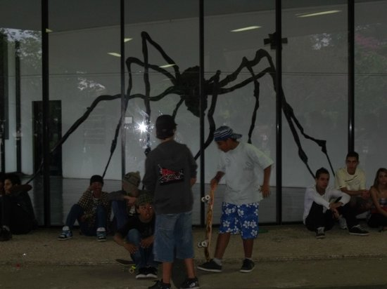 "Modern Art Museum of Sao Paulo: ""Aranha"" -  Louise Bourgeois"