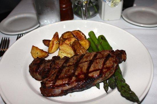Old Ebbitt Grill: New York Strip Steak