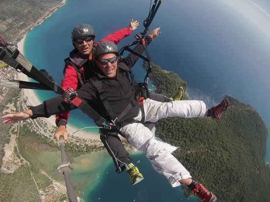 Re Action Paragliding: The nearest thing to flying!!!
