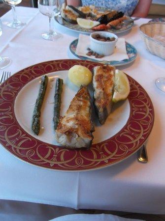 Restaurant la Catifa: My grilled turbot