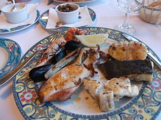 Restaurant la Catifa: Karen's seafood platter