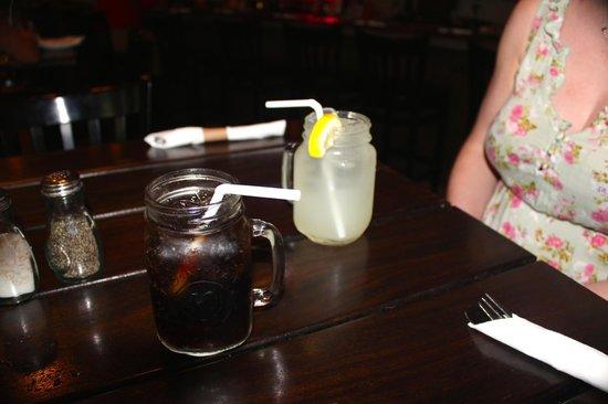Roostica Wood-Fire Pizzeria : Lemonade and Pepsi