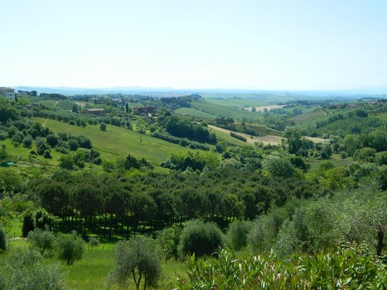 Hotel Santa Caterina : View of Countryside from our Suite
