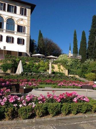 Il Salviatino : colorful garden