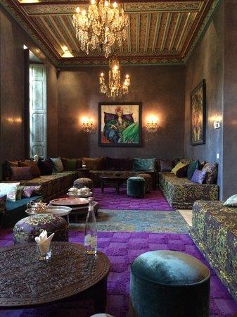 Tigmiza - Suites & Pavillons : Hotel lounge