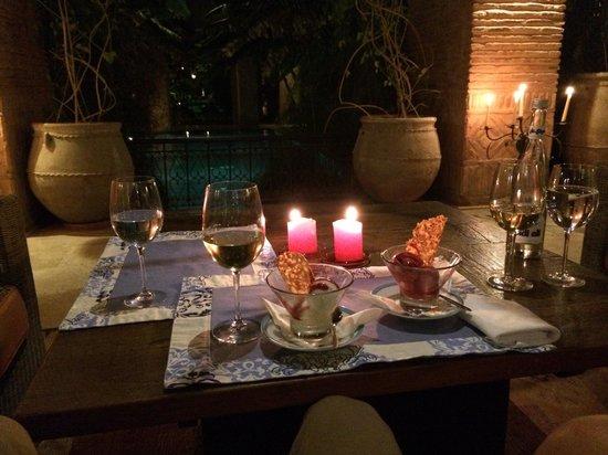 Tigmiza - Suites & Pavillons: Private dinner