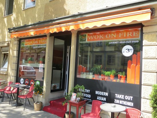 wok on fire ludwigsburg wilhelmstr 4 restaurant reviews phone number photos tripadvisor. Black Bedroom Furniture Sets. Home Design Ideas