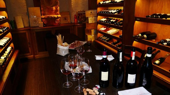 Chateau Monfort : The gorgeous hotel cellar