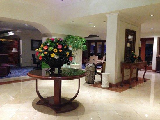 Sheraton Presidente San Salvador : Reception area.