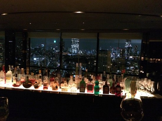 The Prince Park Tower Tokyo: 33rd Floor Bar with a great view