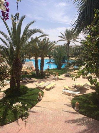 Vincci Resort Djerba: Vue de la chambre !!