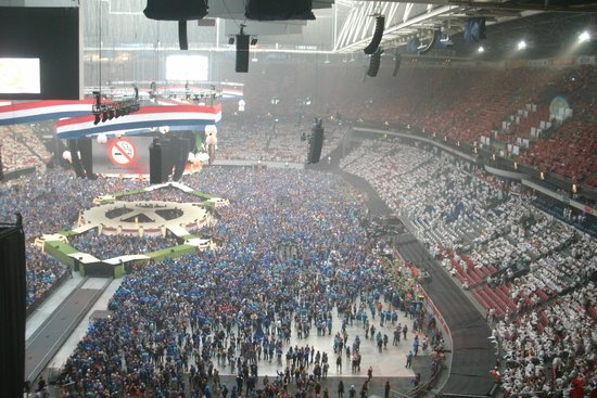 Amsterdam ArenA : Toppers 2014, ready to start.....