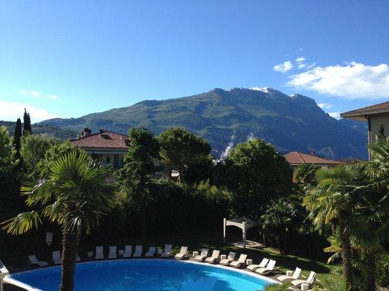 Villa Nicolli Romantic Resort: View from the bedroom