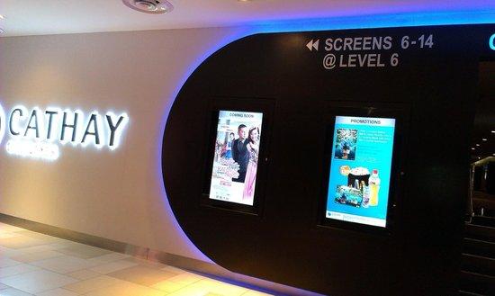 Johor Bahru City Square: Cathay Cinema