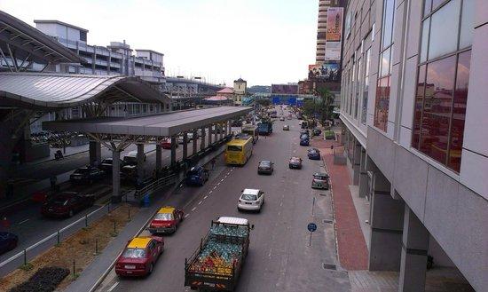 Johor Bahru City Square: CIQ and train station
