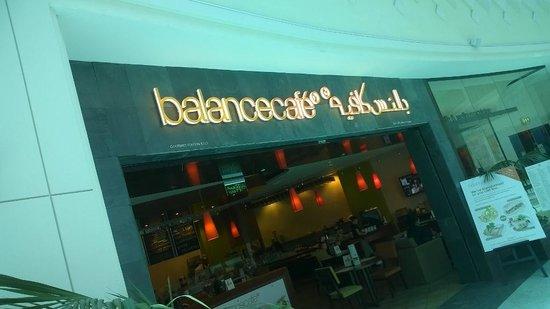 Balance Cafe Welcome