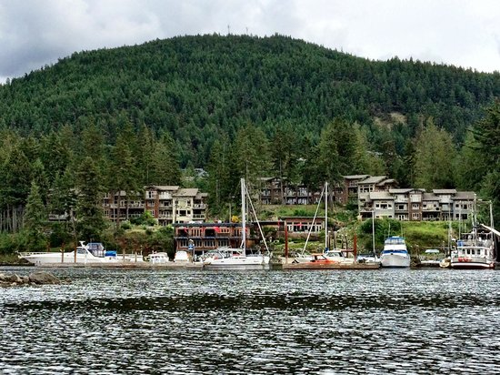 Painted Boat Resort: View from the water!