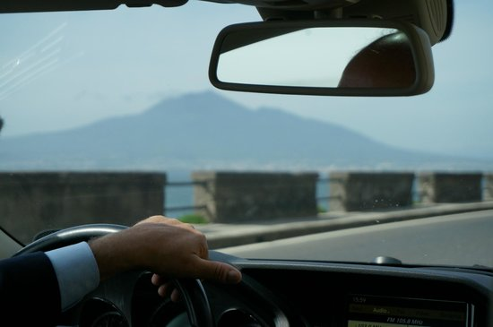 Barbaro Car Service Exclusive Transfers & Tours: Sergio on the steering wheel