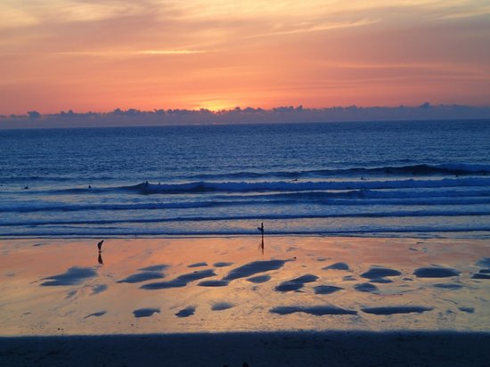 Playa Fistral: Fistral beach sunset