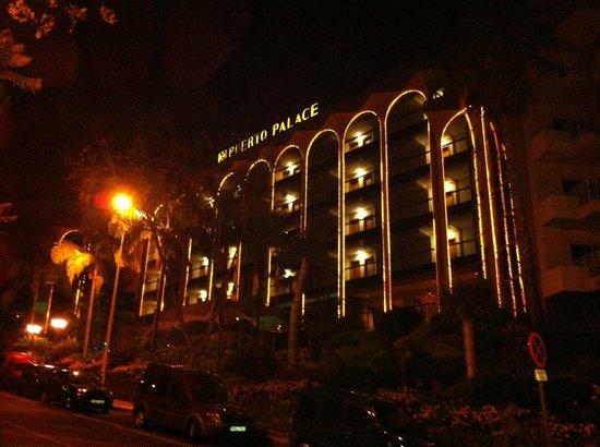Hotel Puerto Palace : côté entrée