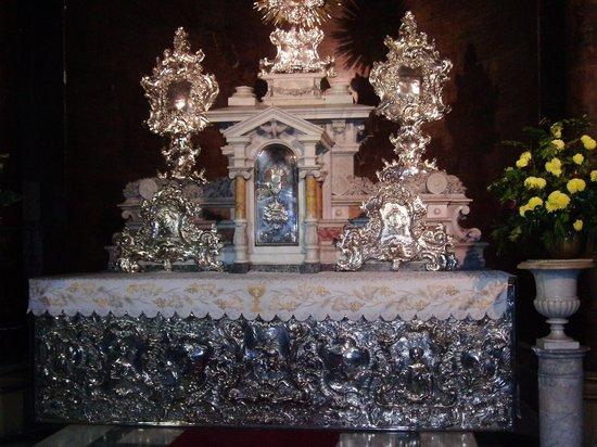 Catedral Metropolitana de Santiago: Altar de Prata