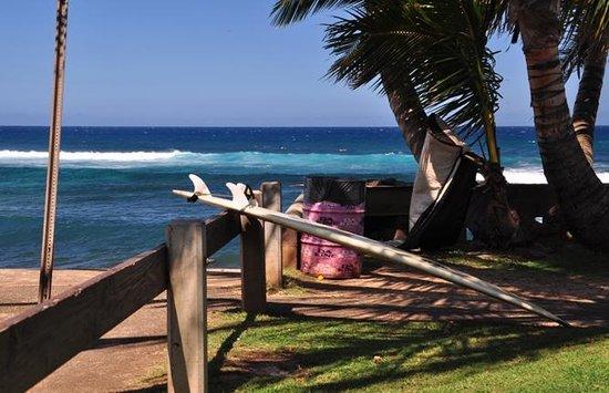Paia, هاواي: Hookipaらしい光景