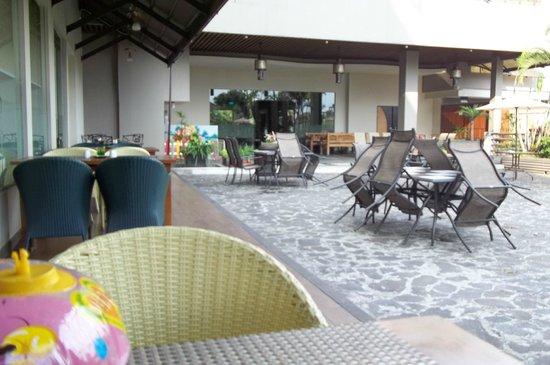 Banana Inn Hotel & Spa: near the pool, behind the hotel lobby