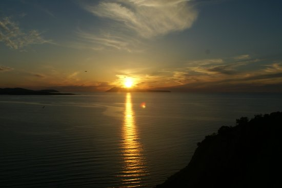 Romanza Hotel: Sunset from room 32