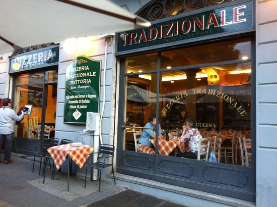 Pizzeria Tradizionale: The traditional italian restaurant like in movies!!