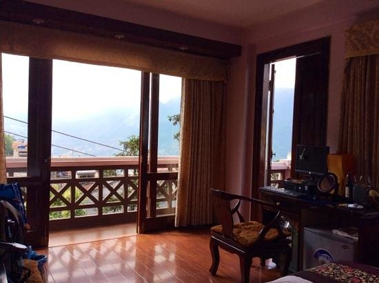 Sapa Paradise View Hotel: the room