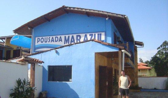 Pousada Mar Azul: Fachada da pousada