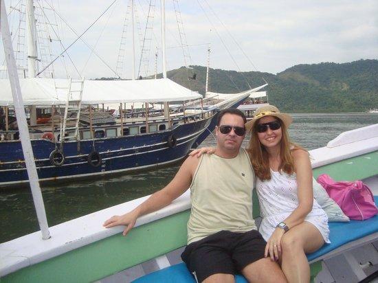 Pousada Mar Azul: Passeio de escuna