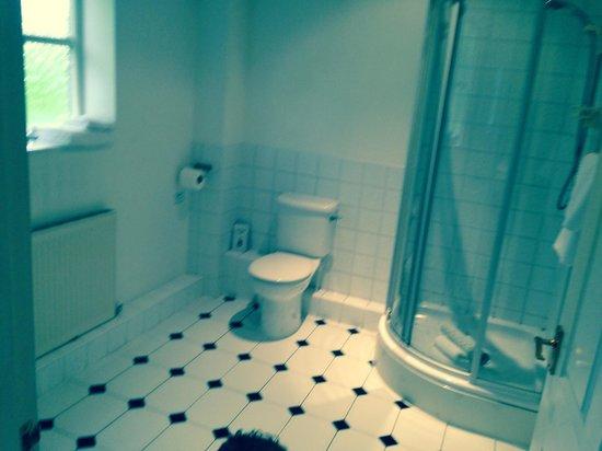 Thurnham Hall: Upstairs shower room 29