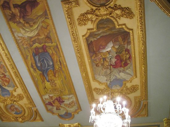 French Lick Springs Hotel : Mural