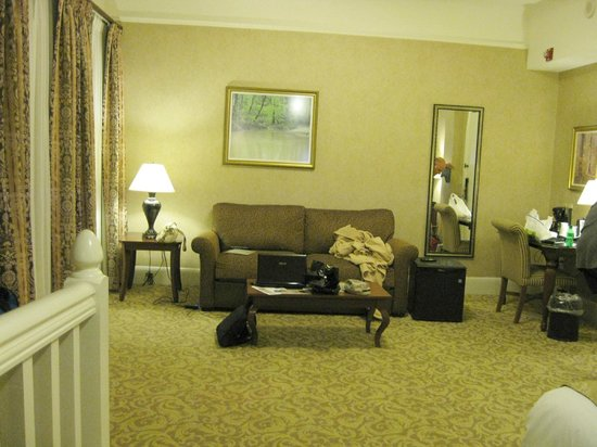 French Lick Springs Hotel : Sitting Room/LR