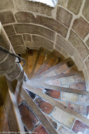 Cathedrale de St-Pierre : Steps leading to the bell tower and amazing views