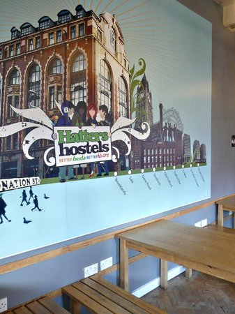 Hatter's Hostel: Dining hall