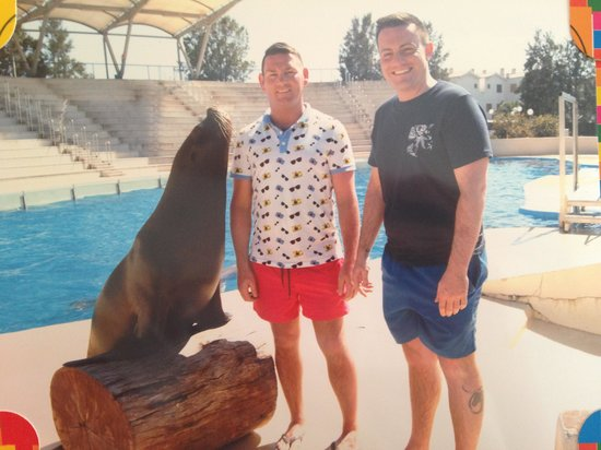 Aquopolis: With the seal!