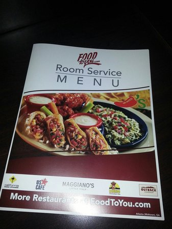 Red Roof Plus+ Atlanta - Buckhead : Room Service ... pricey but good restaurants
