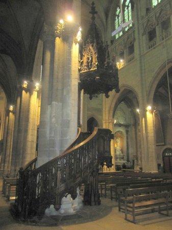 Eglise Saint Nizier : Púlpito