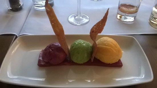 Cassons Restaurant: Sorbets