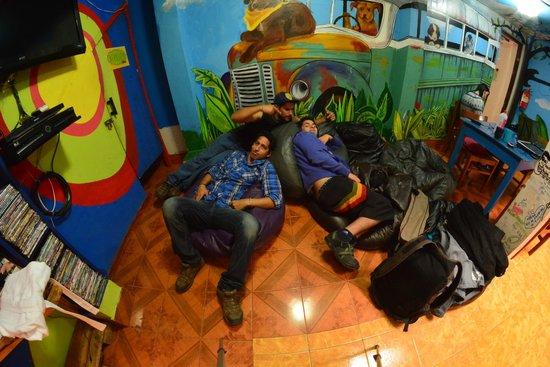 Supertramp Eco Hostel: Marmoteando viendo pelas