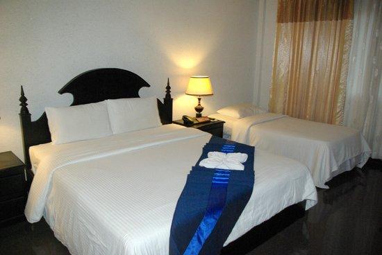 Lucky Angkor Hotel: notre chambre charmante et accueillante