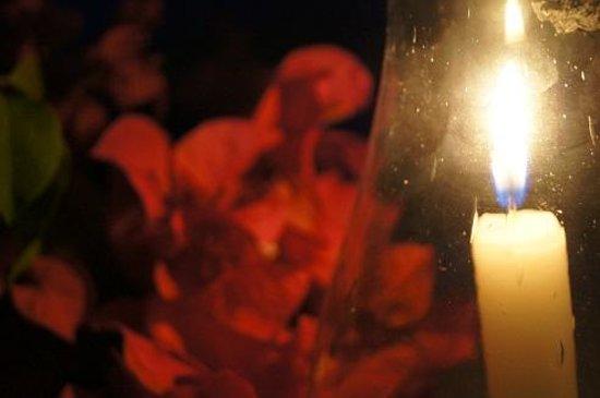 Pigeon Island Beach Resort: The candle light dinner was amazing