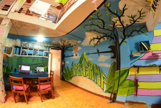 Supertramp Eco Hostel: Recepcion