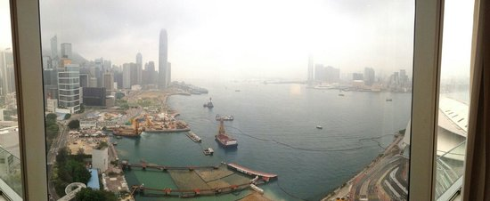 Grand Hyatt Hong Kong: Impressive view from room