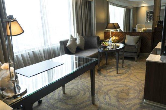 InterContinental Bangkok: The living room